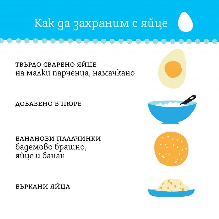 Захранване с яйце